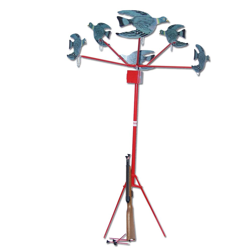 tir au pigeons 6 pièces électrique