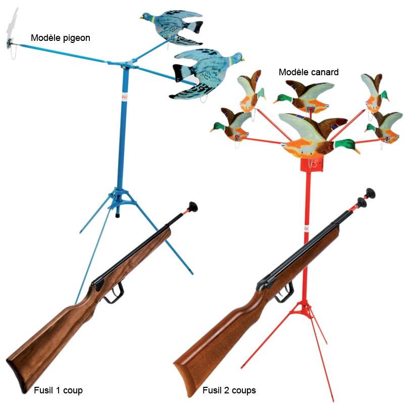 tir aux pigeons jeu