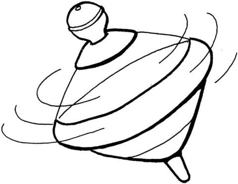 toupie dessin
