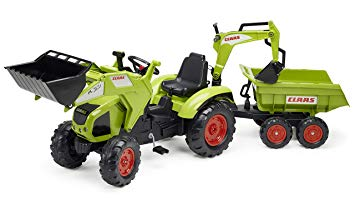tracteur a pedale claas