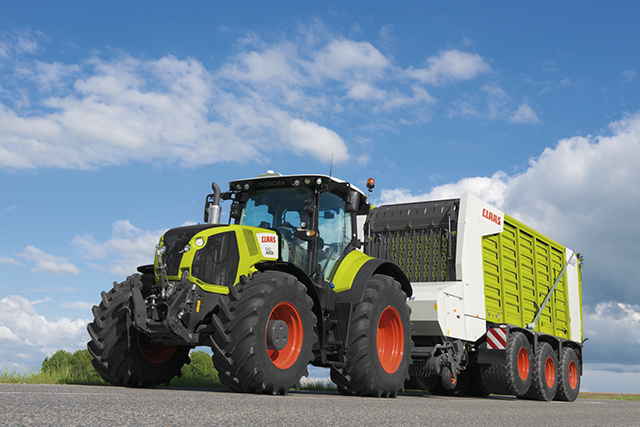 tracteur claas axion 850