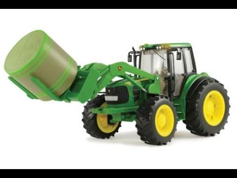 tracteur en jouet