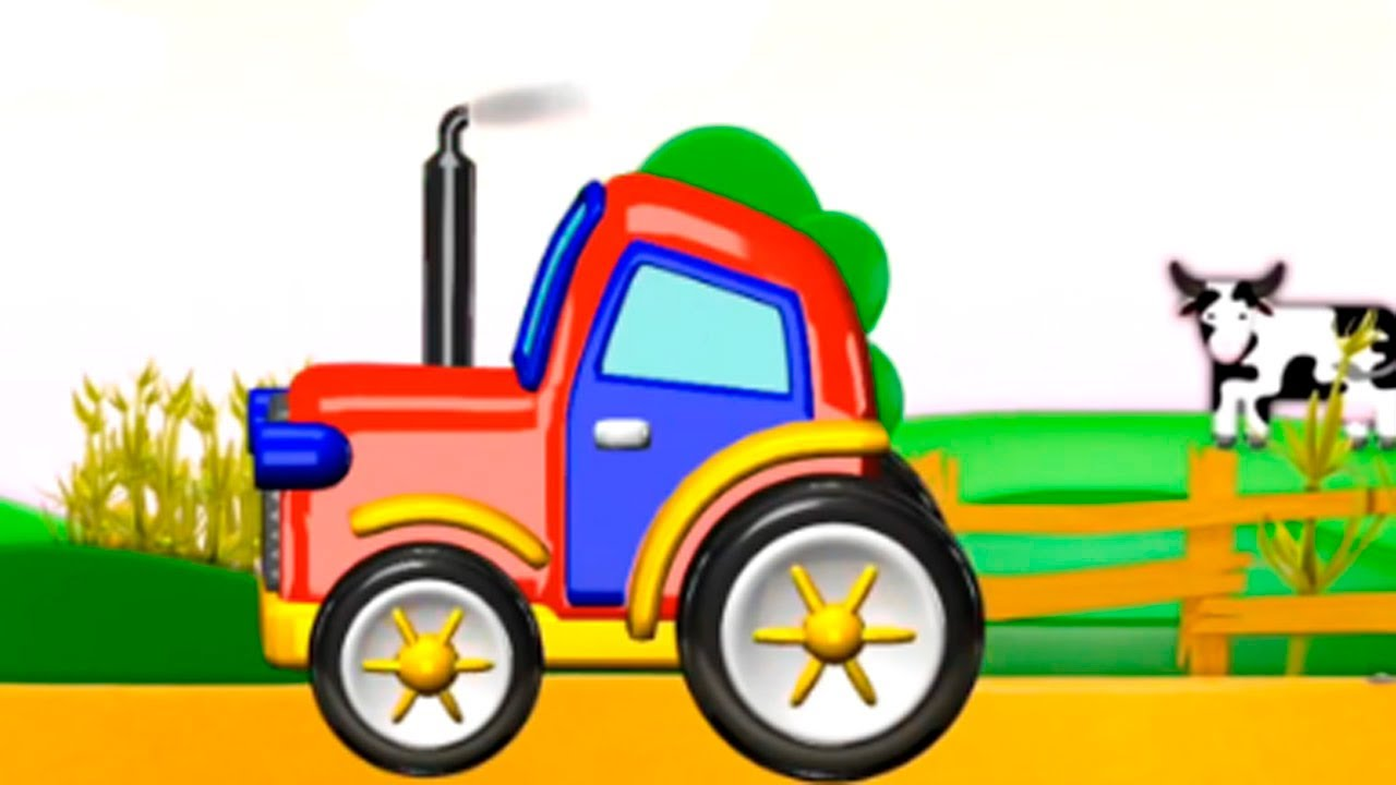 tracteur enfant youtube