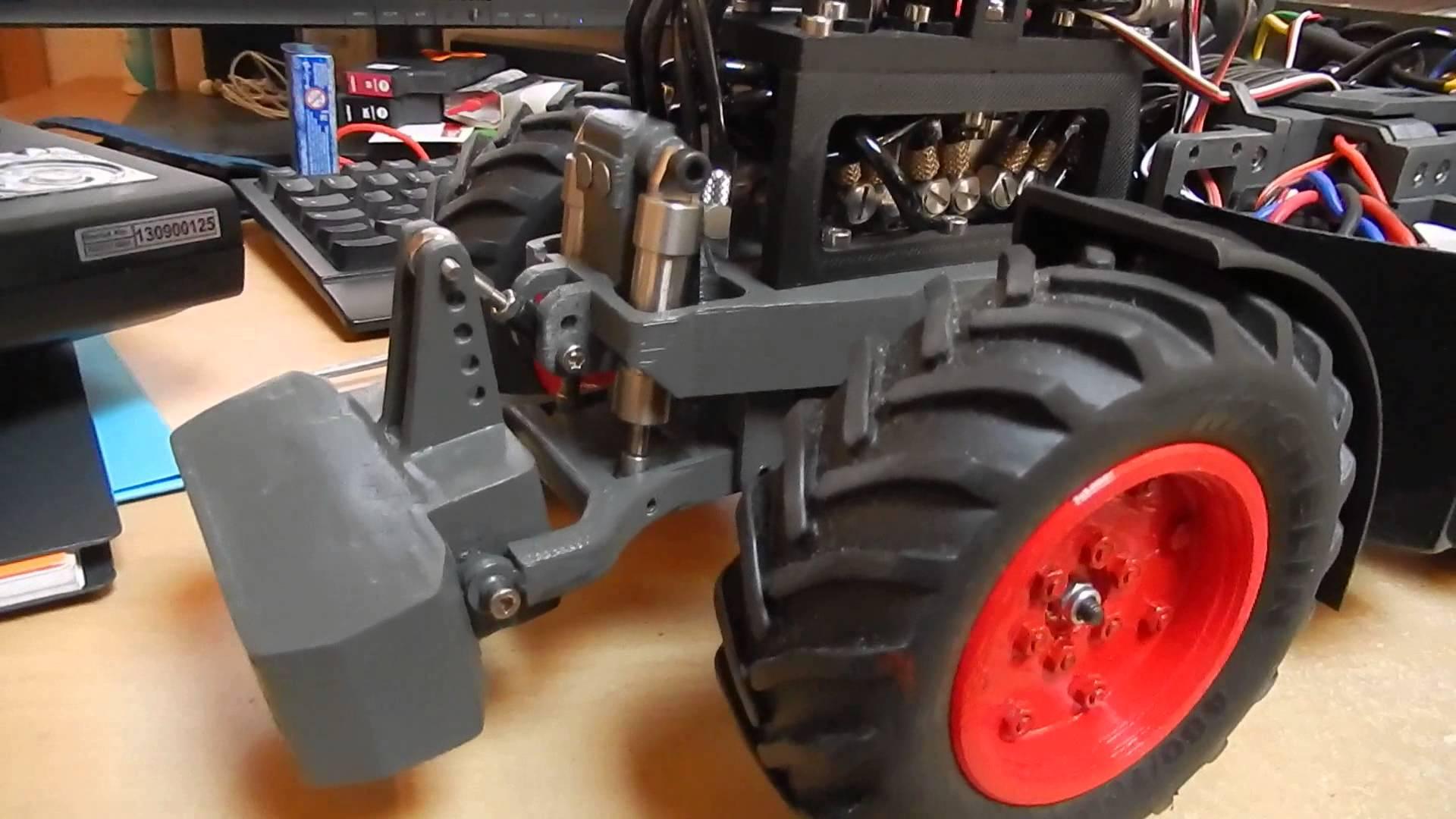 tracteur rc 1 14