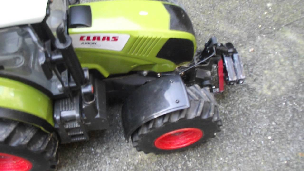 tracteur telecommande a essence