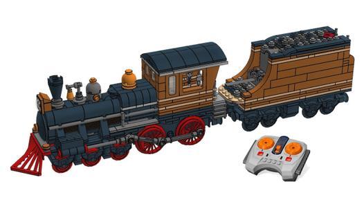 train a vapeur lego
