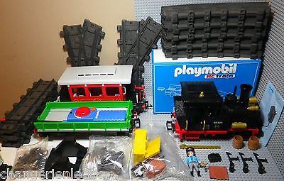 train a vapeur playmobil