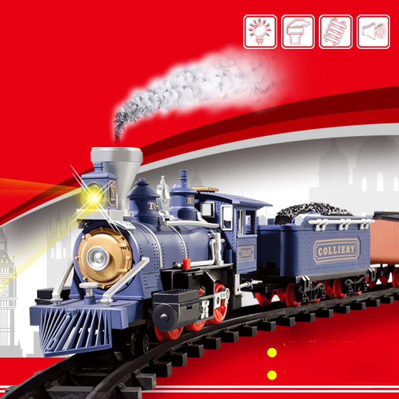 train electrique vapeur
