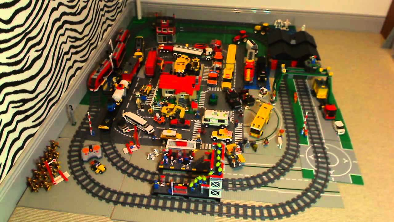 train lego city video