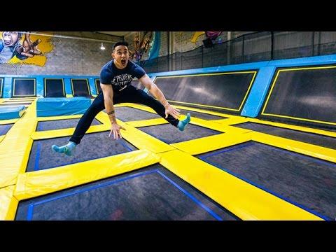 trampoline cormontreuil