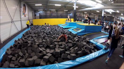 trampoline lyon