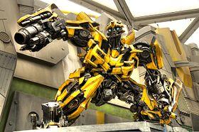 transformers jaune