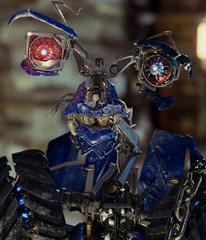 transformers little robot