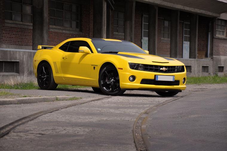 transformers voiture jaune