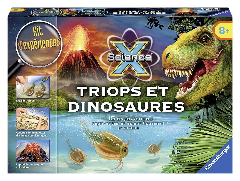 triops et dinosaures ravensburger
