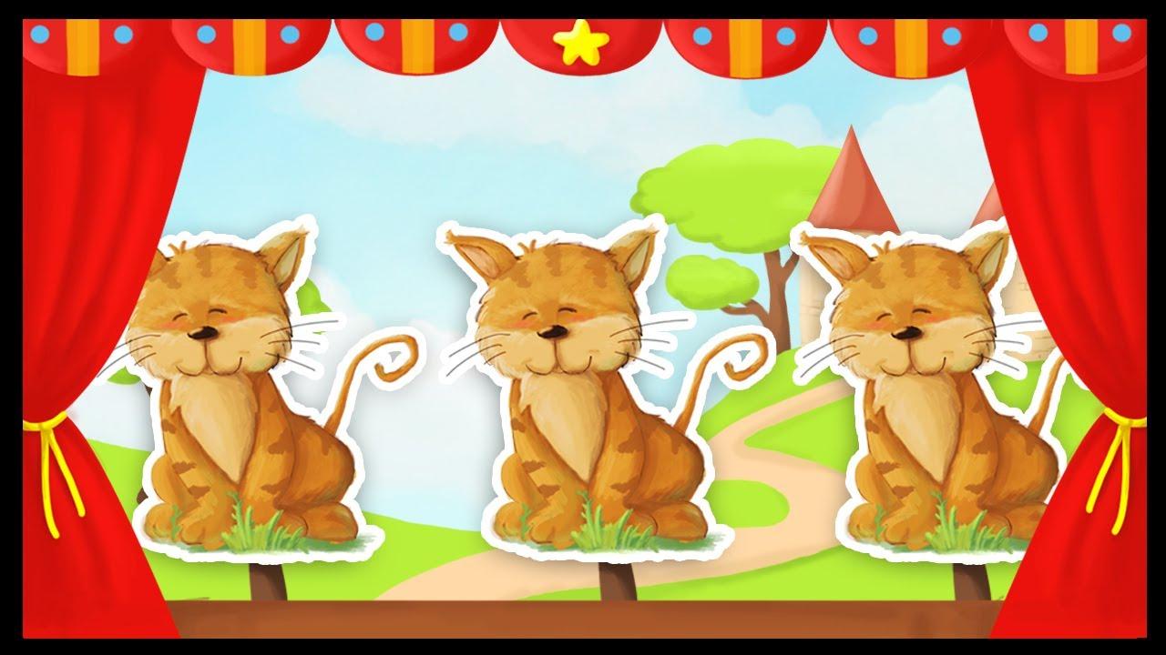 trois petit chat trois petit chat