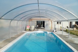 tunnel pour piscine