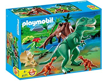 tyrannosaure playmobil