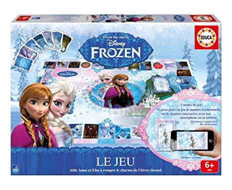 un jeu de la reine des neiges