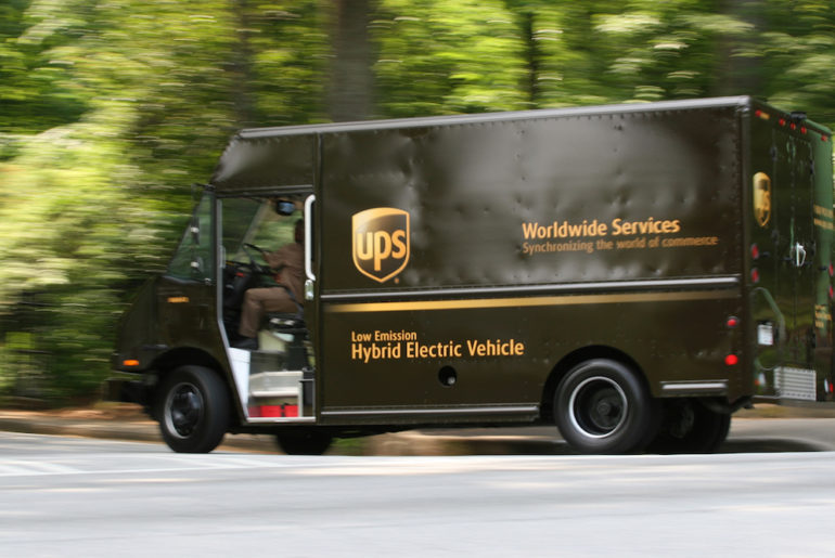 ups camion