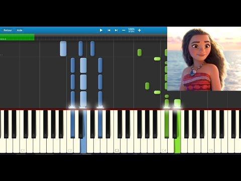 vaiana piano