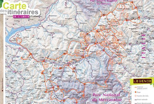 vallée de l ubaye carte