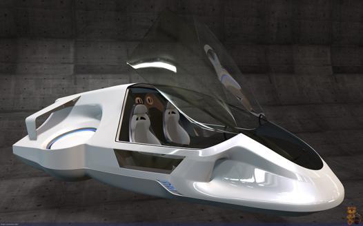 vehicule futuriste
