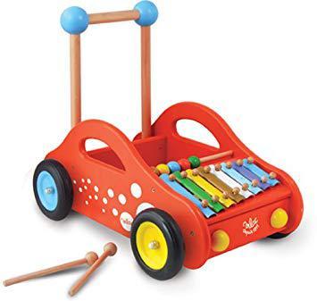 vilac chariot de marche musical