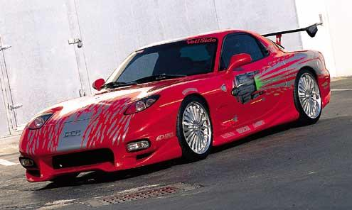voiture dans fast and furious 1
