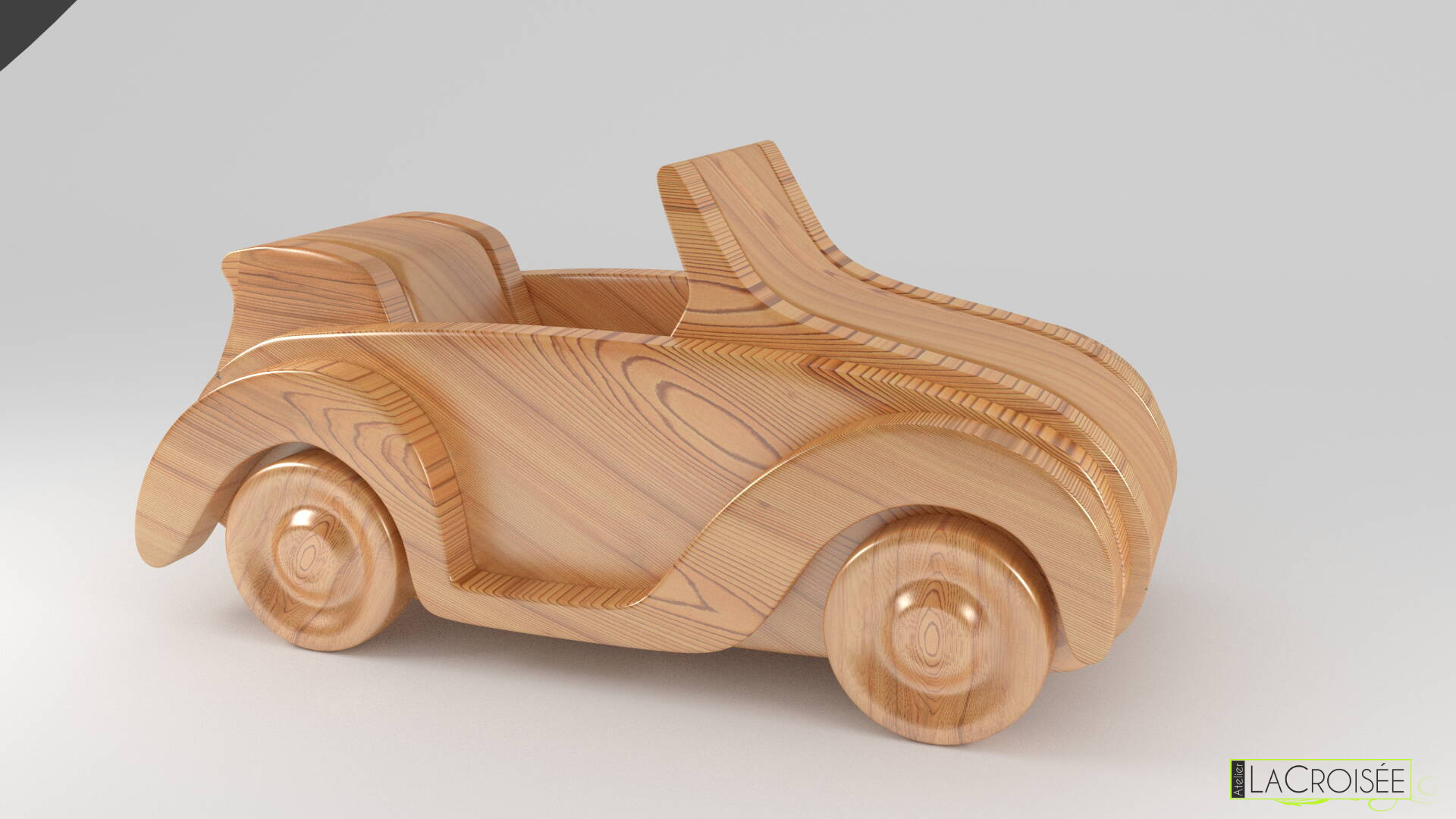 voiture en bois pour enfant