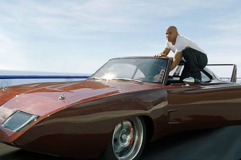 voiture fast and furious dodge