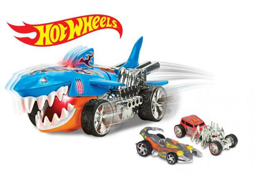 voiture hot wheels requin
