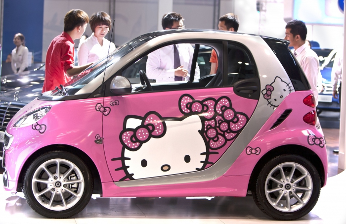 voiture kitty