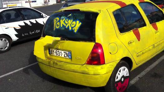 voiture pokemon