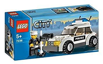 voiture police lego