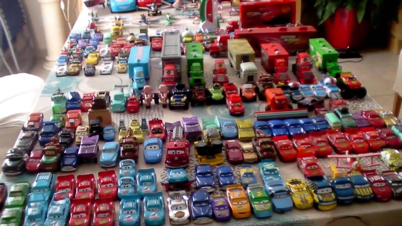 voitures cars mattel