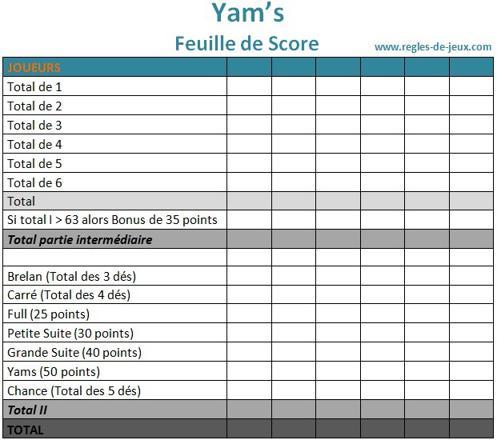 yam s