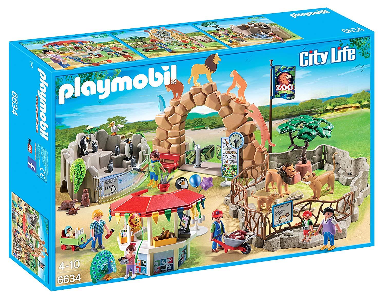 zoo playmobil 6634